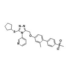 NMS-873, ATPase VCP/p97 Inhibitor