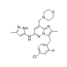 LY2784544, JAK2 inhibitor