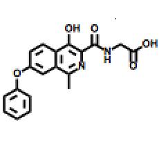 FG-4592 (Roxadustat), HIF Prolyl-Hydroxylases Inhibitor